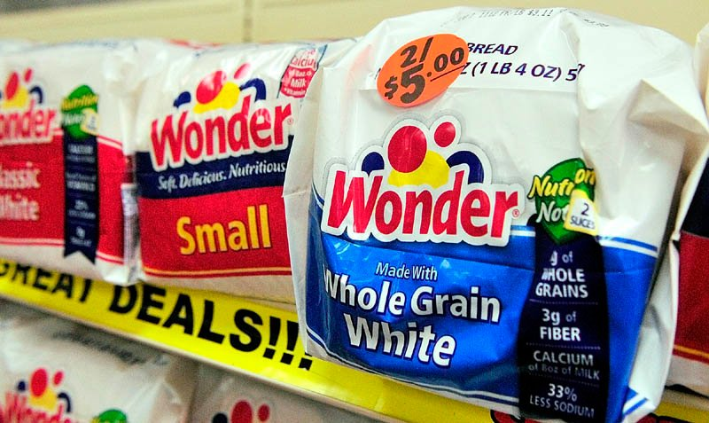Wonder Bread and other Hostess bread brands have attracted bids from the makers of Thomas' English muffins and Tastykake snacks, the Wall Street Journal reports. Hostess announced in November that it was shutting down its business and selling its bread, snacks and cakes brands along with its 33 bakeries and other operations.