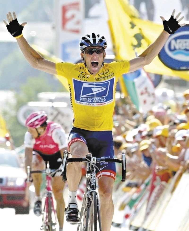 """SPEAKING UP: Lance Armstrong told the Associated Press in a text message that he """"left it all on the table,"""" during his interview with Oprah Winfrey, which will begin airing tonight."""