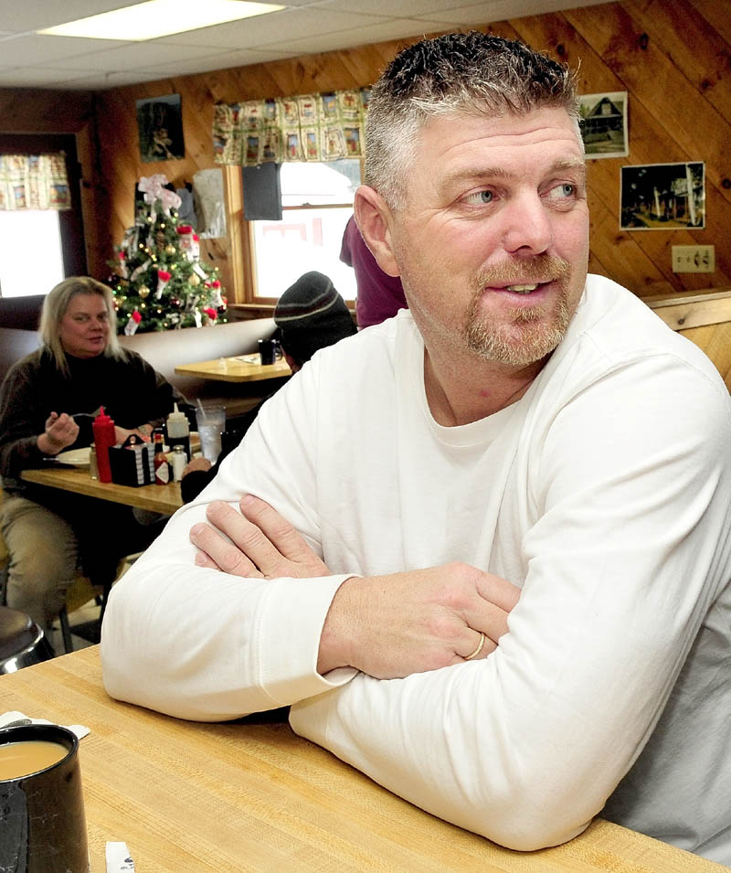 """Lee Libby, a snowmobile guide in Rangeley, says Rangeley Lake is typically unsafe this time of year. """"I won't go on it until the first or second week of January,"""" he said."""