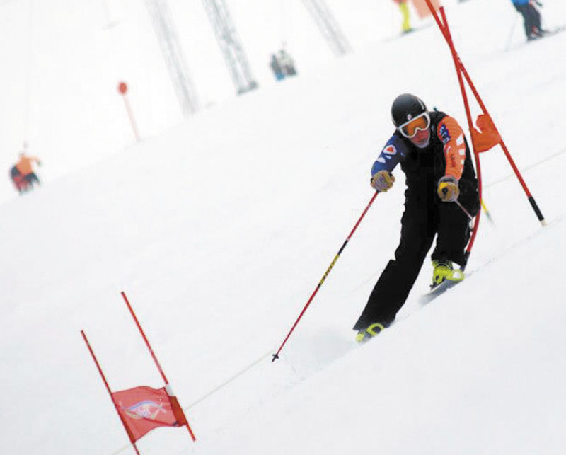 ON A ROLL: Carrabassett Valley Academy senior Sam Morse hopes to make the U.S. Olympic team in the future. The 16-year-old senior in on the right track, according to his coach.