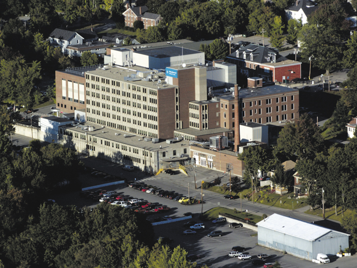 The current Augusta campus of the Maine General Medical Center, on East Chestnut Street.