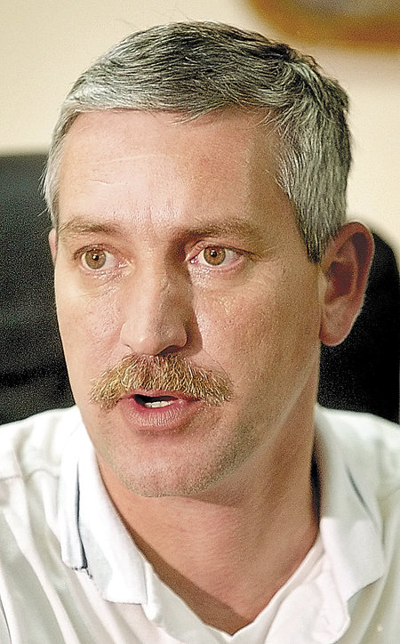 Then-Fairfield Police Chief John Emery in 2003.