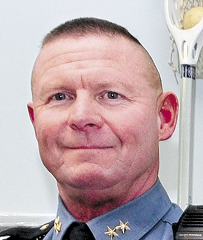 Outgoing Skowhegan Police Chief Michael Emmons