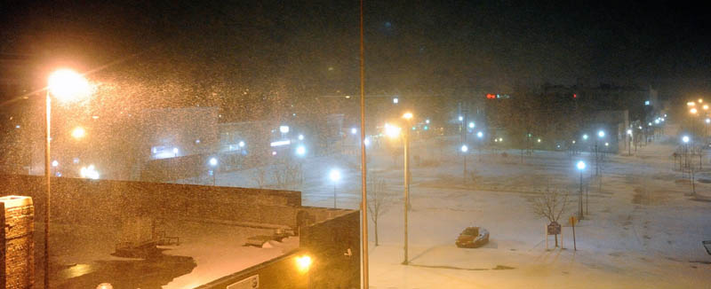 Winter storm Nemo hammers central Maine early Saturday morning.