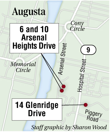 L.D. 340, a bill sponsored by Rep. Corey Wilson, R-Augusta, would authorize the sale of former group homes at 6 and 10 Arsenal Heights Drive on the state's east side campus and the grounds of the former Augusta Mental Health Institute.