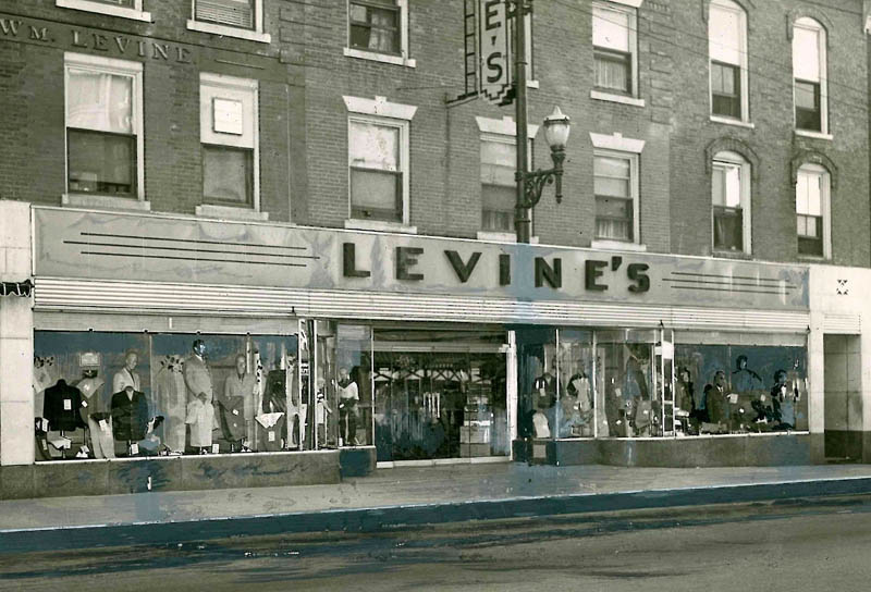 Levine's in downtown Waterville in an undated file photo.