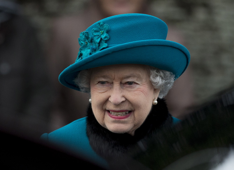 Britain's Queen Elizabeth II has been taken to the King Edward VII hospital in central London suffering from gastroenteritis on Sunday.