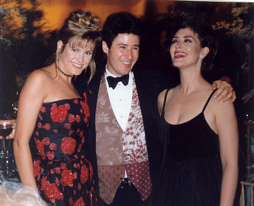 """Northern Exposure"" cast members, from left, Cynthia Geary, Rob Morrow, and Janine Turner, at the 1993 Emmy Awards. The CBS television show about a fictional Alaska town is the inspiration behind a California production company's plans to feature Jackman in a new reality show, according to a production company member."