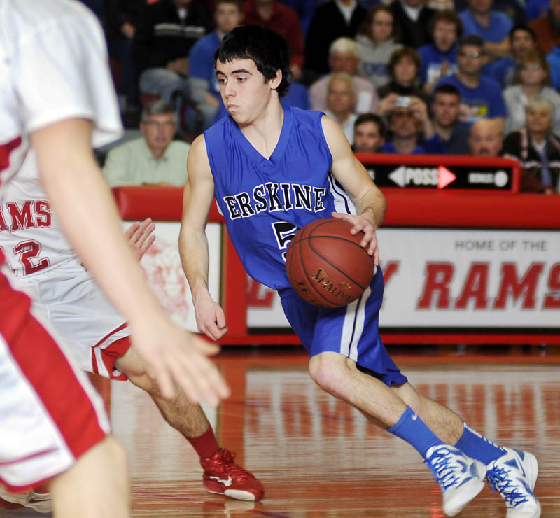 Erskine's Devin Duncan will take part in the McDonald's Maine Senior All-Star Games on Saturday in Bangor.