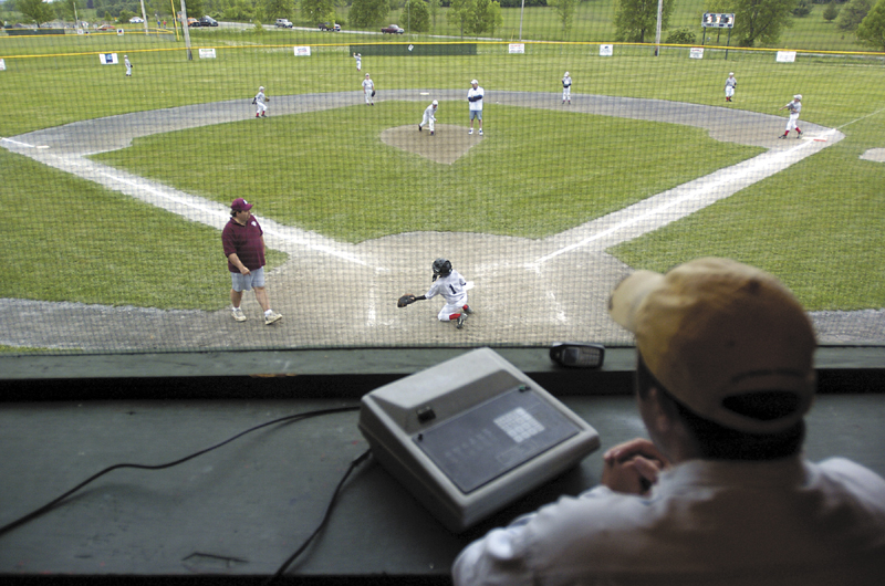 A Little League game held at the CARA complex in Augusta.