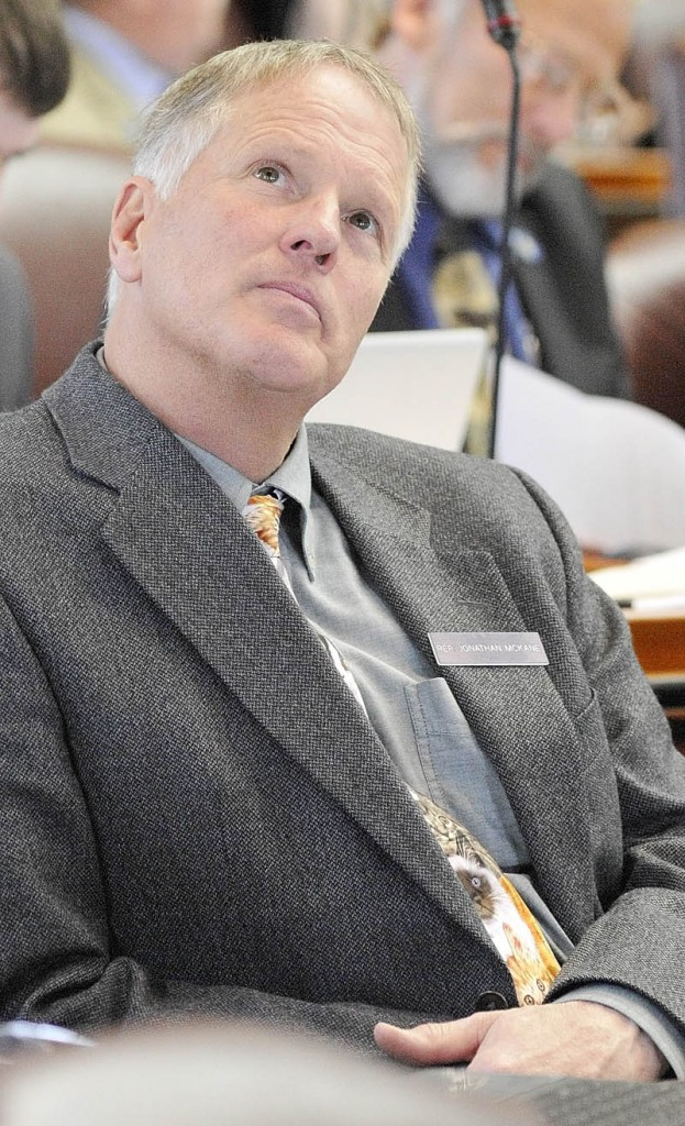 Former state Rep. Jonathan B. McKane in a May 2011 photo. .