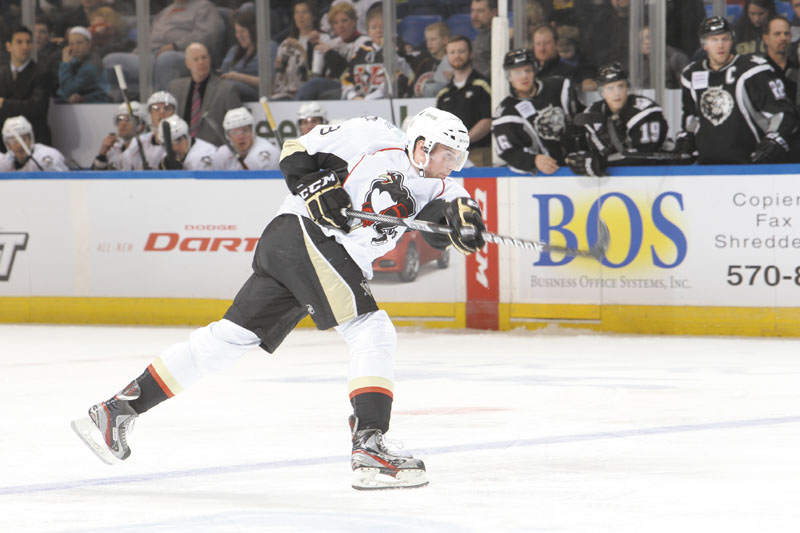 COMING HOME: Biddeford native Brian Dumoulin returns to Maine this weekend when the Wilkes-Barre/Scranton Penguins play the Portland Pirates at the Cumberland County Civic Center on Friday.