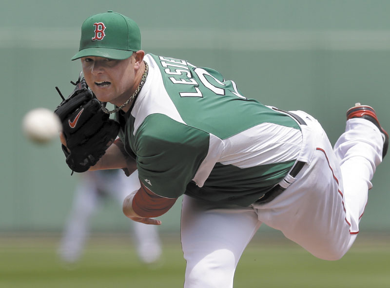 Boston Red Sox pitchers, including Jon Lester, have been encouraged by the Red Sox coaching staff to work quicker. Lester, who pitched four scoreless innings against Miami on Wednesday, will start the Red Sox regular season opener Monday against the Yankees.