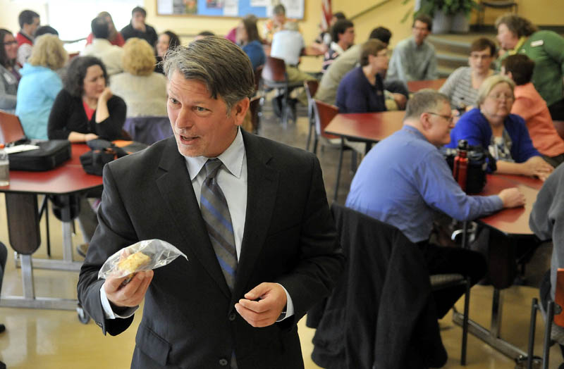 Richard Hopper took over as president of Kennebec Valley Community College in Fairfield on Monday, after leaving his post at the World Bank as an education specialist.