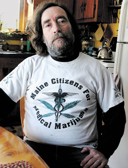 """Donald Christen, 59, of Madison, is organizing a rally on the steps of the Somerset County courthouse at noon Monday for a public """"smoke-in"""" to draw attention to efforts to further legalize marijuana use."""