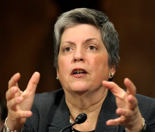 Homeland Security Secretary Janet Napolitano