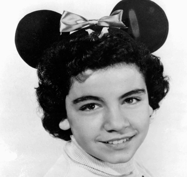 "A 1955 photo of Annette Funicello, a ""Mouseketeer"" on Walt Disney's TV series the ""Mickey Mouse Club."""