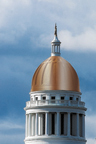 Illustration shows what the State House dome might look like with new copper.