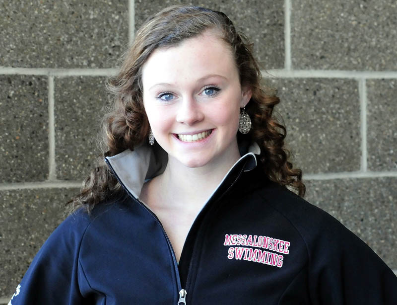 Kristy Prelgovisk has been named Morning Sentinel Girls Swimmer of the Year.