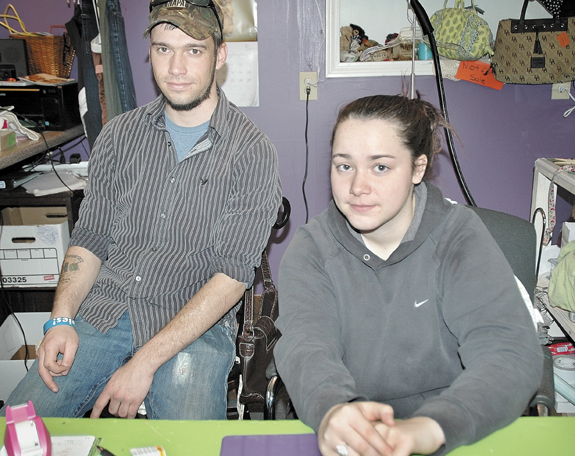 Bryant Corson, 22, of Skowhegan, and his sister, Cassandra, 18, of Norridgewock, children of Michele Corson who was arrested Wednesday night as a fugitive from justice for a murder case in New Hampshire, said their mother is a jovial woman who is not capable of being an accomplice to the murder of her brother's ex-wife in March.