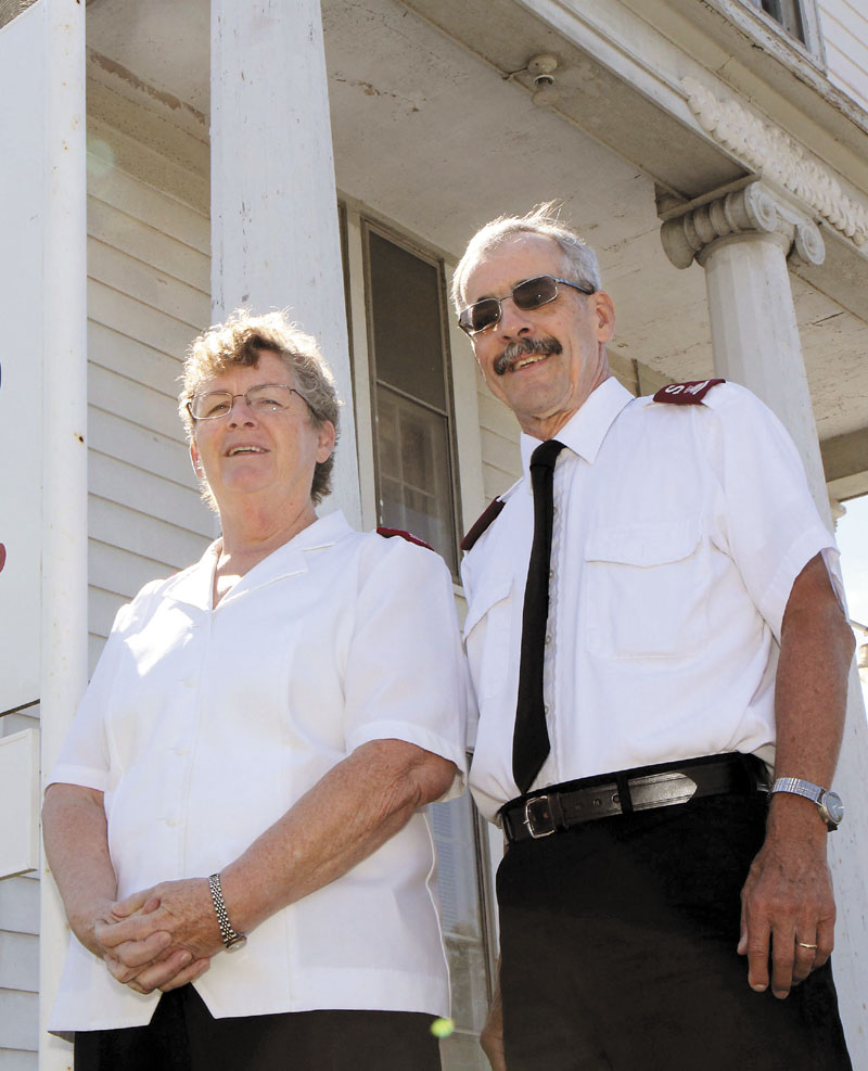 Karin and David Dickson are leaving their positions as directors of the Salvation Army in Waterville to take similar posts in Augusta.