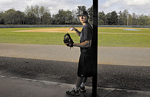 HONORED: University of Southern Maine shortstop Sam Dexter, a Messalonskee graduate, was named the All-New England Region Baseball Rookie of the Year.