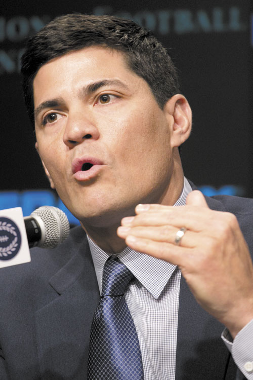 HALL OF FAMER: Former New England Patriots linebacker Tedy Bruschi was selected Tuesday for the College Football Hall of Fame. Bruschi had 52 sacks as part of Arizona's Desert Swarm defenses during the mid-1990s.
