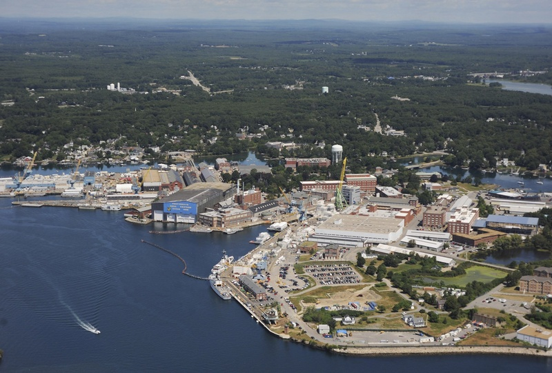 Civilian workers at the Portsmouth Naval Shipyard in Kittery won't be subject to a government furlough.