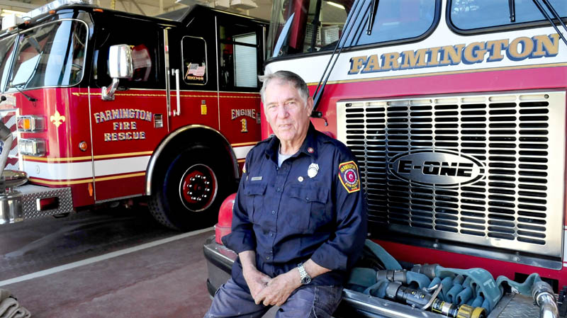 Farmington firefighter Doug Oliver has been recognized for his services with the department for the last 50-years.
