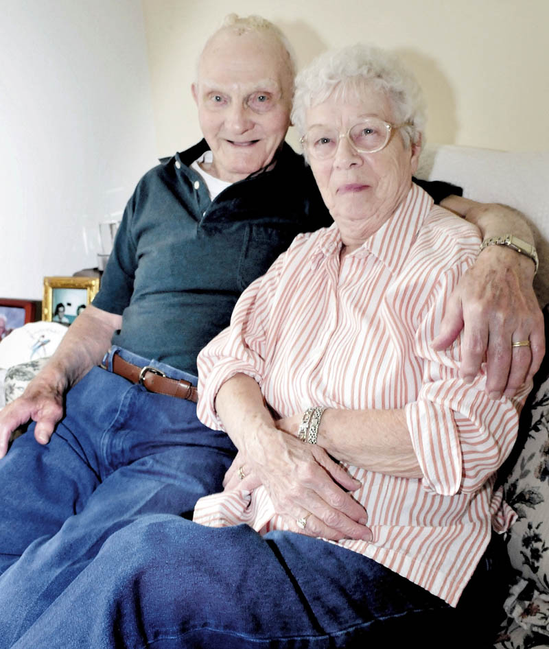 Lawrence and Dorothy Burleigh have been married more than 71 years, and 99-year-old Lawrence was recently recognized as the oldest resident of Corrina.