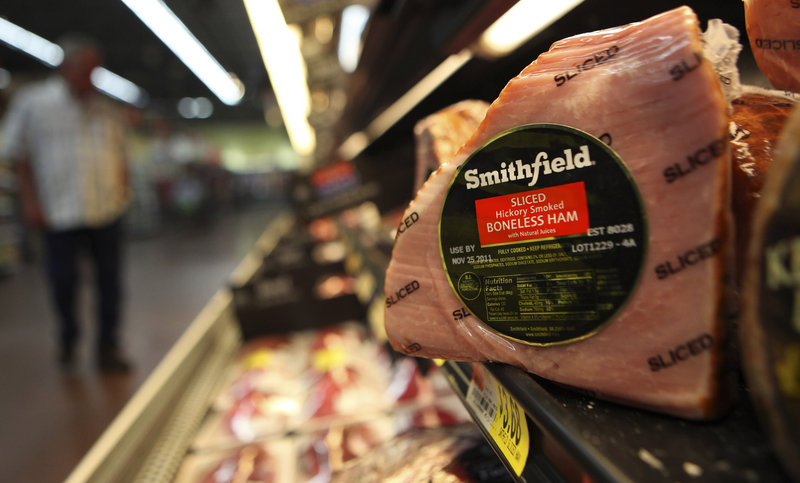 Pending approval, the world's biggest pork producer would go private.