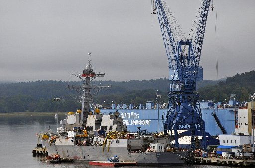 Bath Iron Works on Monday was awarded a $2.8 billion contract to build four destroyers for the U.S. Navy, and a fifth, $700 million ship, is possible if funding can be worked out in Congress.