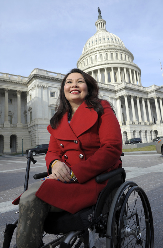 Rep. Tammy Duckworth, D-Ill., who lost both legs and partial use of an arm in a rocket-propelled grenade attack in Iraq, made a passionate plea in the House on Friday to pass a defense budget that toughens penalties for sex assault in the military.