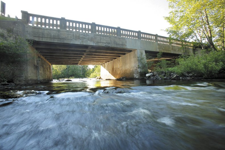 The Route 1 bridge over the Kennebunk River on the Kennebunk and Arundel town line is one of over 350 'deficient' bridges in Maine.