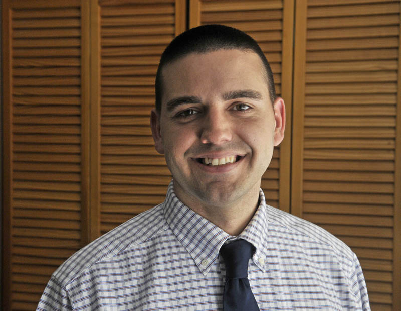 The search to replace Fairfield Town Manager Josh Reny, seen in his office last year, is down to six candidates town officials said Tuesday. Reny's last official day is Sept. 18, though he may work on a pro-rated basis if needed until his new position in South Portland begins Oct. 2.