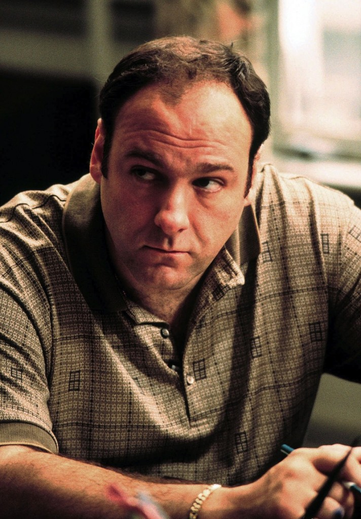 "This 1999 file photo released by HBO shows actor James Gandolfini as Tony Soprano in the critically acclaimed HBO series ""The Sopranos."" HBO and the managers for Gandolfini say the actor died Wednesday, June 19, 2013, in Italy. He was 51. (AP Photo/HBO, Anthony Nesta, file)"