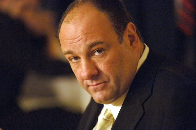 "This undated publicity photo, released by HBO, shows actor James Gandolfini in his role as Tony Soprano, head of the New Jersey crime family portrayed in HBO's ""The Sopranos."" HBO and the managers for Gandolfini say the actor died Wednesday, June 19, 2013, in Italy. He was 51. (AP Photo/HBO, Barry Wetcher, File)"