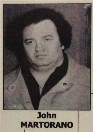 This undated photo shows a younger John Martorano, who has admitted killing 20 people.