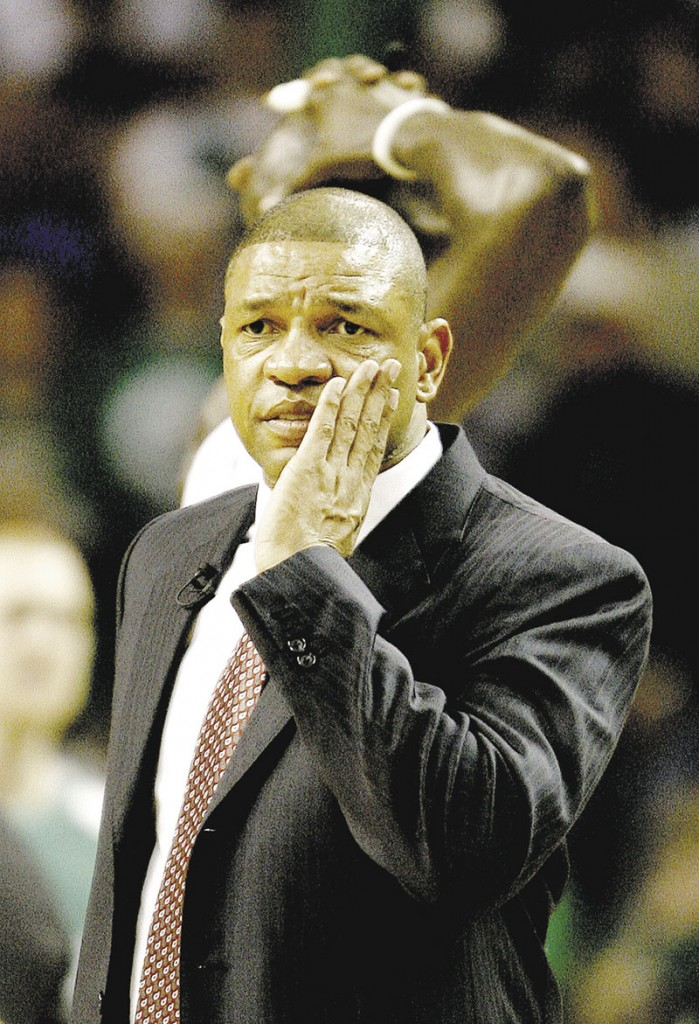 THE MAN FOR THE JOB: Doc Rivers will reportedly leave the Boston Celtics to become the new head coach of the Los Angeles Clippers. Rivers brings an impressive resume with him to L.A., including an NBA title.