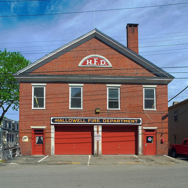 The Hallowell Fire Station on Second Street in Hallowell, as seen on Tuesday. Maine Class A state baseball championship on Tuesday June 18, 2013 at Morton Field in Augusta.