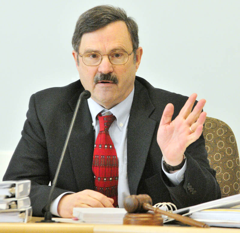 Tom Welch, chairman of the Maine Public Utilities Commission