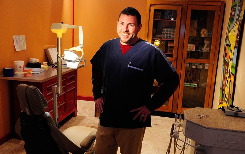 Eric McMaster, an independent-practice dental hygienist, recently opened Healthy Smiles on Water Street in downtown Gardiner.