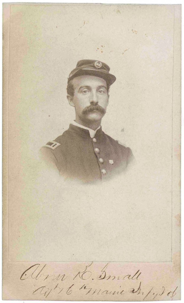"""Capt. Abner K. Small of Waterville said: """"We were sacrificed."""""""