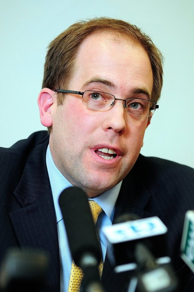 Maine Sen. Seth Goodall will vacate his seat to take a job with the Small Business Administration.