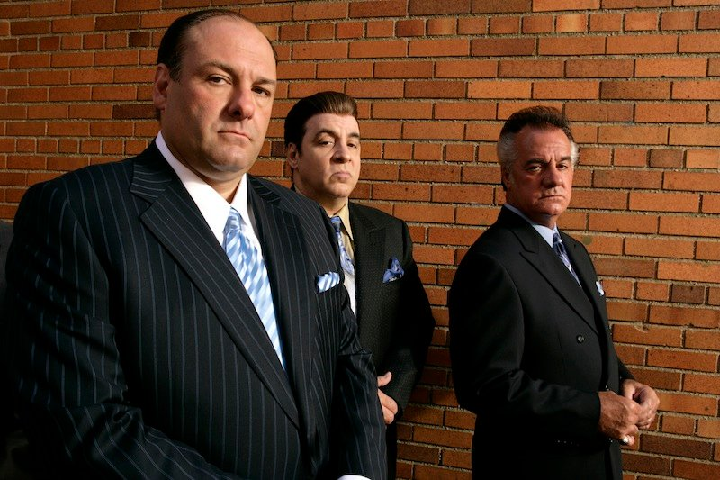 "This 2007 photo, supplied by HBO, shows James Gandolfini, left, Steven Van Zandt and Tony Sirico, right, members of the cast of the HBO cable television mob drama ""The Sopranos"" during their final season. Gandolfini, star of 'The Sopranos', dead at 51"