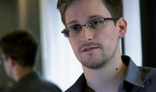 This June 9, 2013, photo provided by The Guardian newspaper in London shows Edward Snowden, who worked as a contract employee at the U.S. National Security Agency.