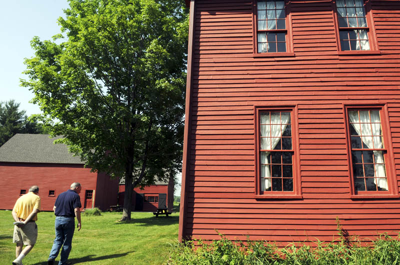 The Colburn House State Historic Site in Pittston was built in 1765, with a barn and carriage house added in the 19th Century.