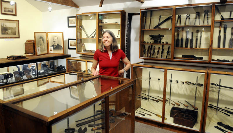 Carolyn Case and her husband, Fred, plan to reopen the Southard Museum for Richmond Days this weekend. The Southard has been closed since Carolyn's father, Wilbert Cooper, died in 2006. The house and barn oat 75 Main Street features antique tools and items from Richmond's history.
