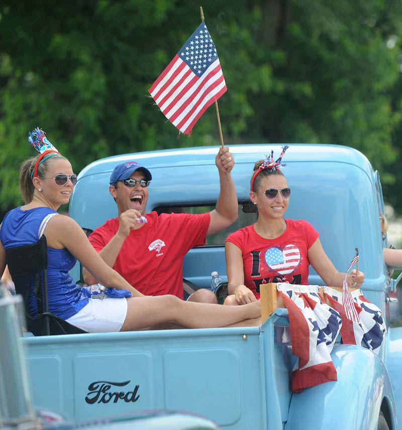 Participants of the annual Winslow Family 4th of July Celebration parade.