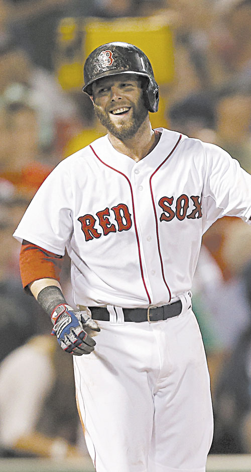 100M MAN: The Boston Red Sox and second baseman Dustin Pedroia are closing in on a seven-year, $100M contract extension.